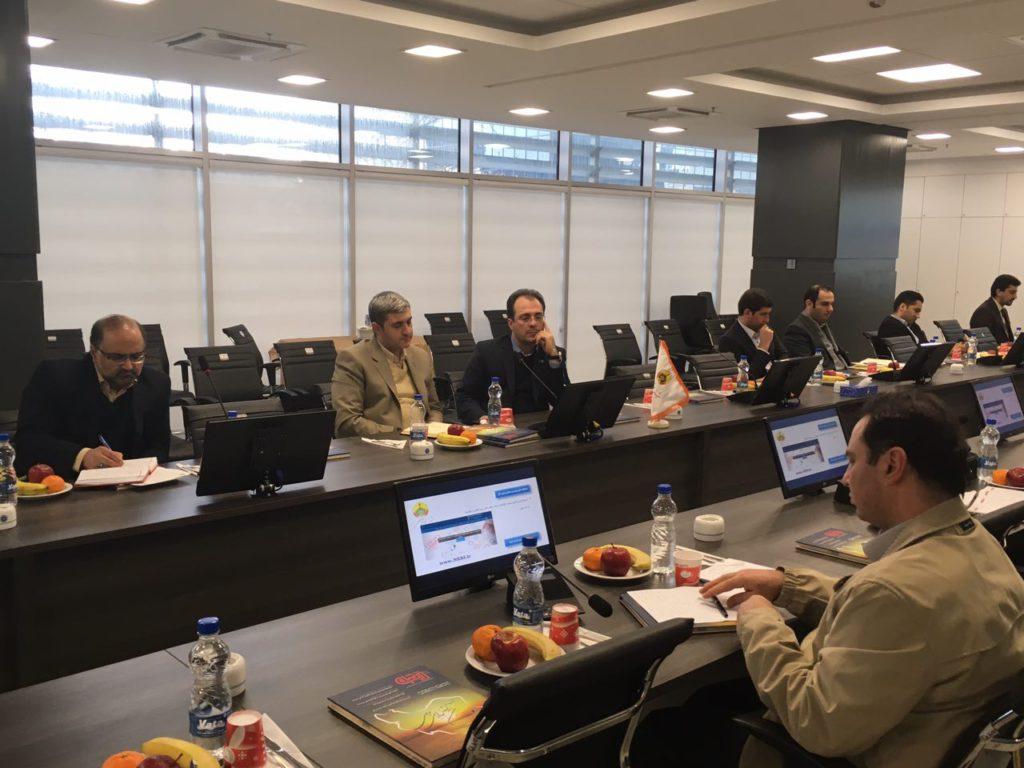 جلسه کمیته راهبری هشتمین جشنواره ملی بهره وری